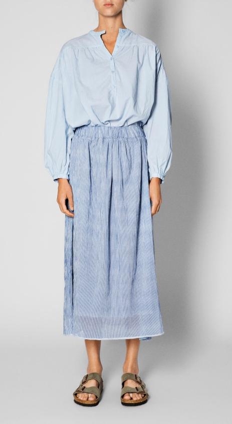 Aiayu_2018_VOL_1_Wear_Skirt_long_mix_blue